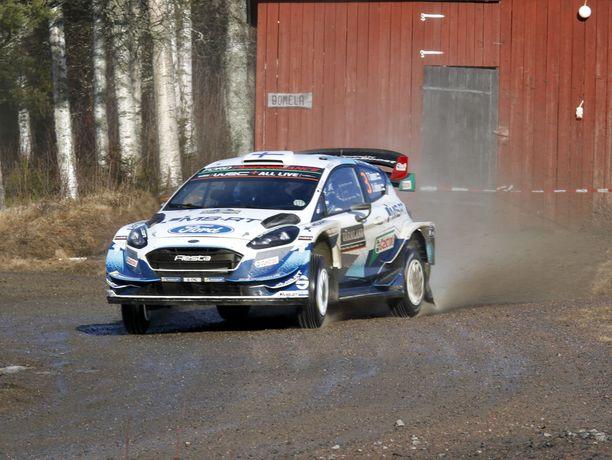 Teemu Suninen ei ole onnistunut Ruotsissa Fordin toivomalla tavalla.