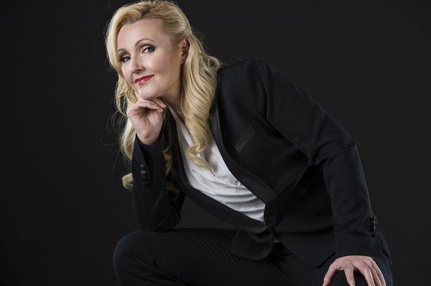 Mari Perankoski Iltalehden kuvauksessa marraskuussa 2015.