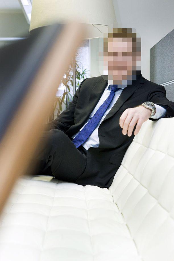 LM Tietopalvelujen toimitusjohtaja Janne Järvinen kuvattuna vuonna 2011.