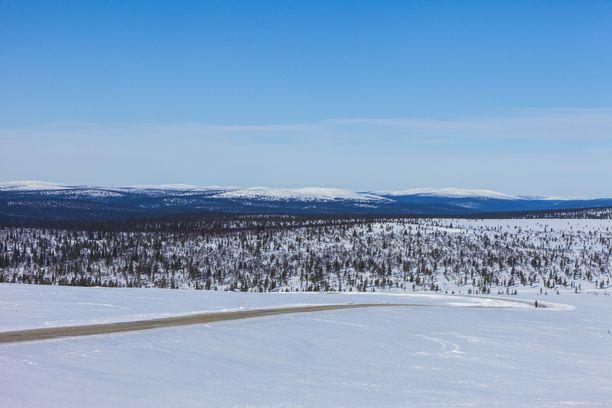 Murheellinen metsästysturma tapahtui Urho Kekkosen kansallispuistossa. Kuvituskuva.