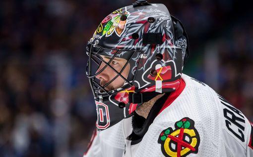 Mureniko Leijonien kultasankarin suuri NHL-mahdollisuus? Konkarivahti palasi viime hetkellä harjoituksiin – sairasti koronan