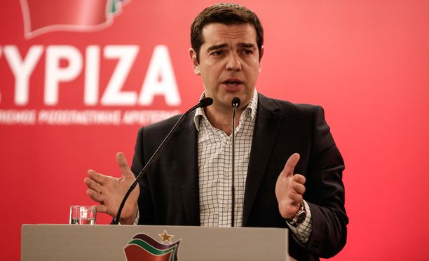 Kreikan pääministeri pääministeri Alexis Tsipras.