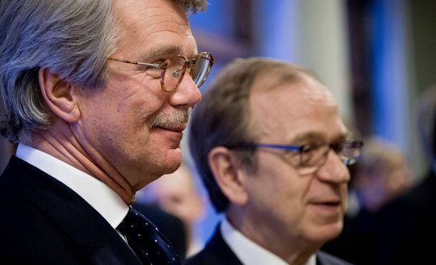 Nordean suuromistajan, suomalaisen Sammon hallituksen puheenjohtaja Björn Wahlroos kommentoi pääkonttoriasiaa tänään Lontoossa järjestettävässä Sammon pääomapäivässä.