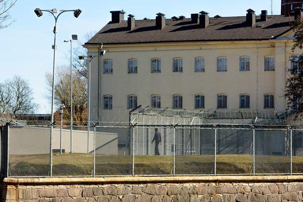 Ruotsalainen Kalmarin vankila kuvattuna keväällä 2016.