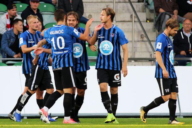 Inter kohtaa kotonaan tänään KPV:n