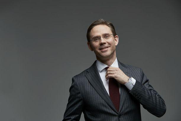 Jyrki Katainen toimi Suomen pääministerinä (kok) ennen lähtöään Brysseliin.