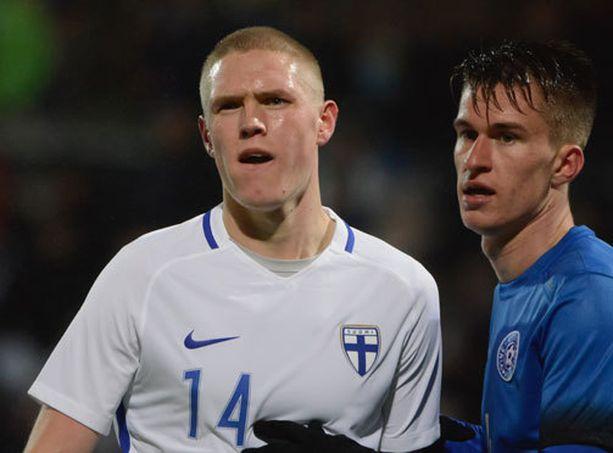 Fredrik Jensen murtautui A-maajoukkueeseen.