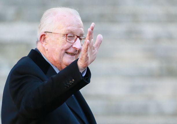 Belgian ex-kuningas Albert ll arkistokuvassa marraskuussa 2018.