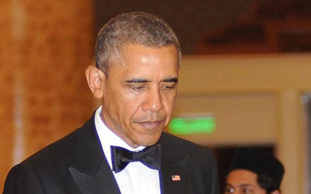 Barack Obama joutui Malesiassa vastaamaan NBA:n rasismikohuun.