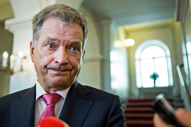 Presidentti Sauli Niinistö tapasi Salon kaupungin johtoa sekä Microsoftin luottamusmiehiä perjantaina.