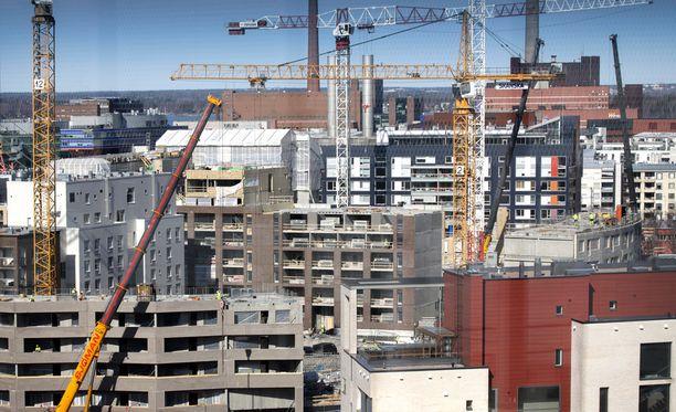 Erityisesti pienasunnoilla tehdään jatkokauppoja rakennusvaiheen aikana.