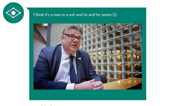 Suomalaisia julkisuuden henkilöitä ohjelma ei tunnista.