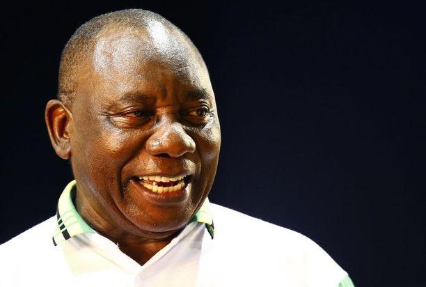 Cyril Ramaphosa nousi maanantaina ANC-puolueen johtoon.