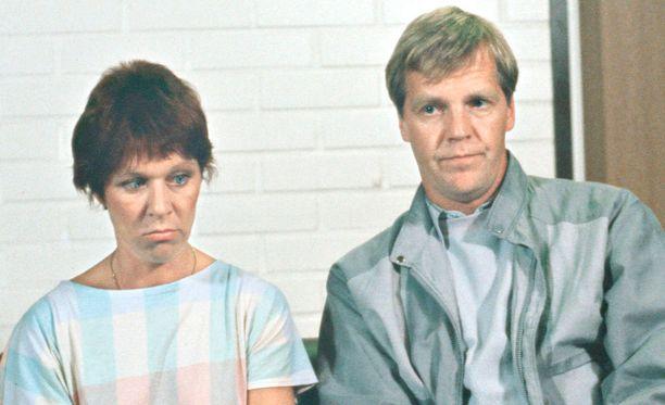 Tuija Ernamo ja Ilmari Saarelainen ovat sisko ja sen veli.