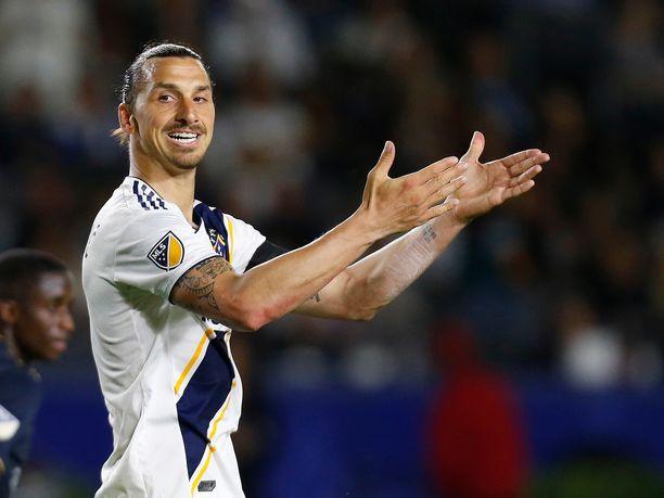 Zlatan Ibrahimovicin otteet MLS:ssä puhuttavat.