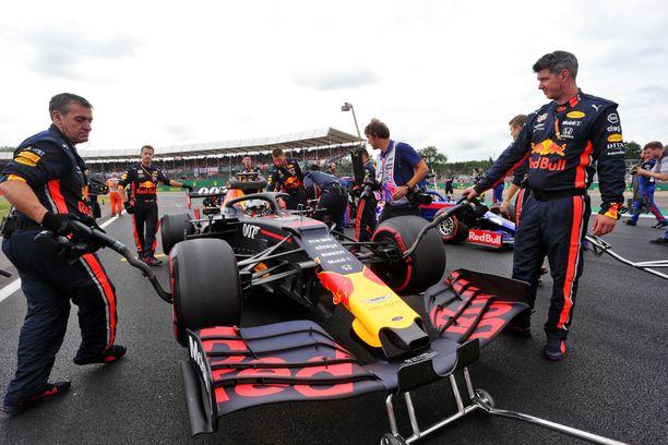 Red Bullin varikon sähäkkyys oli sunnuntaina ME-tasolla.