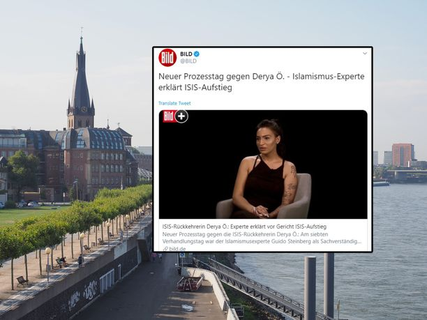 Derya sai tuomion Düsseldorfissa Saksassa.