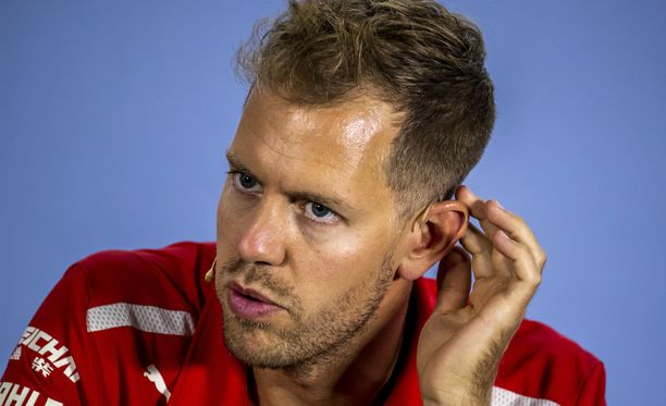 Sebastian Vettelilla riittää pähkäiltävää.