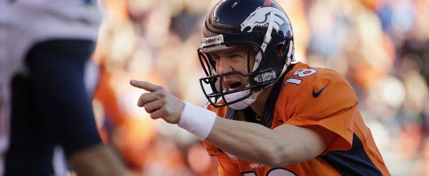 37-vuotias Peyton Manning johdattaa Denver Broncosin sunnuntain Super Bowliin.