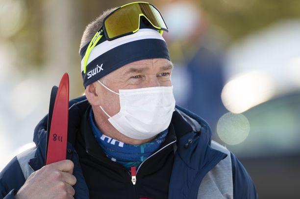 Matti Haavisto seurasi Ristijärven SM-kisoja maaliskuun lopussa.