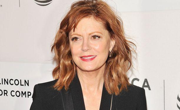 Susan Sarandon on esiintynyt lukuisien elokuvien lisäksi muun muassa Frendeissä.