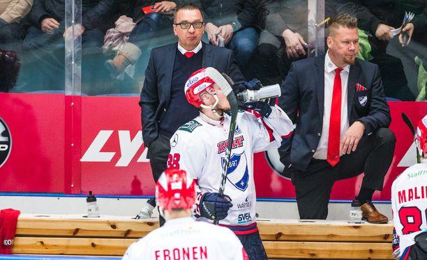 Ari-Pekka Selinin ensimmäinen kausi HIFK:ssa päättyy pronssipeliin.