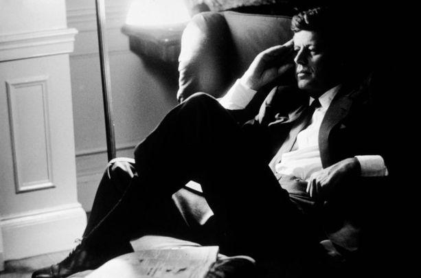 John F. Kennedy oli USA:n 35. presidentti.