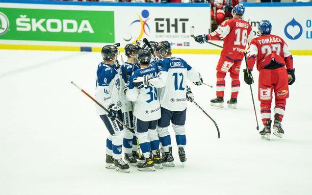 Leijonat otti ainoan voittonsa Malmössä lauantaina Tshekkiä vastaan.