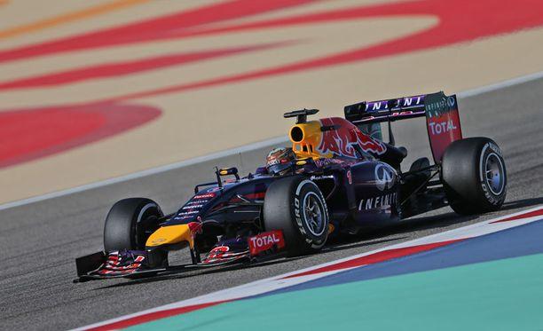 Sebastian Vettel starttaa ruudusta 11 sunnuntaina.