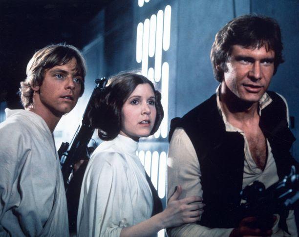 Fisher muistetaan parhaiten Star Wars -elokuvista.