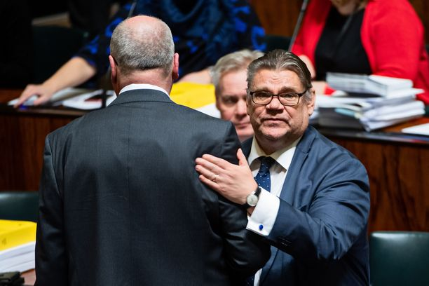 Ulkoministeri Timo Soini jättää eduskunnan. Soini ei ole kertonut, mitä hän aikoo tehdä seuraavaksi.