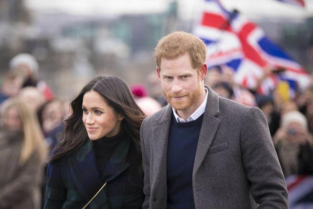 Prinssi Harry ja Meghan Markle menevät naimisiin lauantaina 19. toukokuuta.