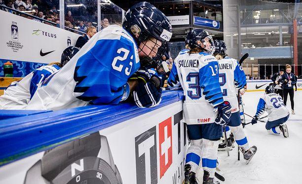 Suomi kärsi tappion MM-finaalissa.