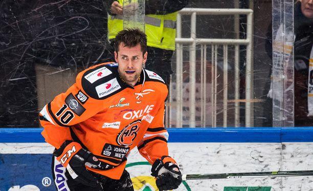 Mathias Porseland loukkaantui pahannäköisesti.