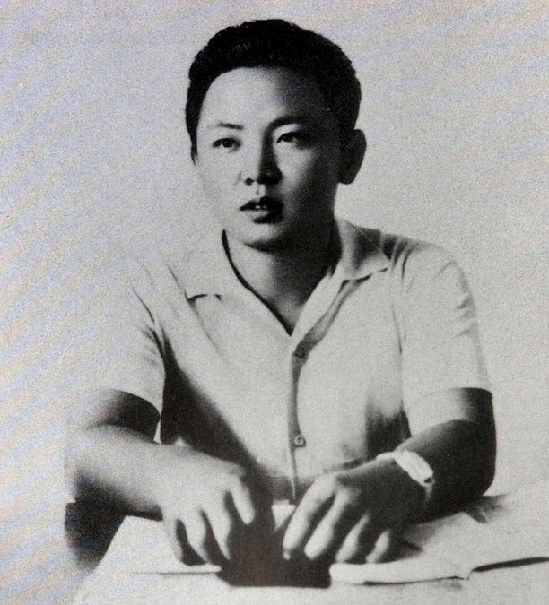 Kuvassa on Kim Jong-il (1941-2011) nuorena miehenä.