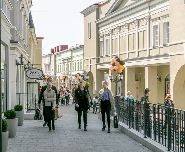 Zsar Outlet Villagesta löydät parhaat alennukset samasta paikasta.