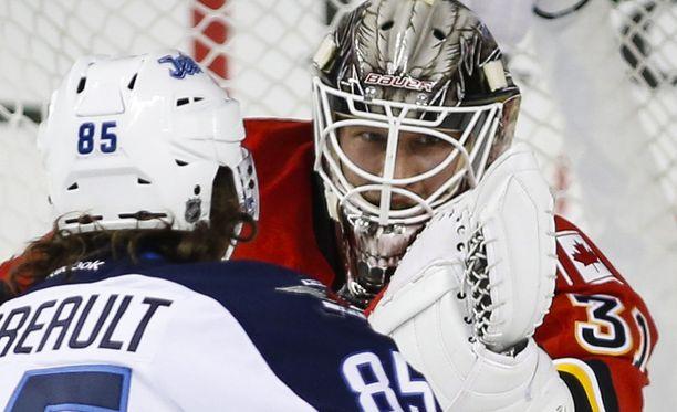Calgary Flamesin Karri Rämö ei ole onnistunut alkukaudella.