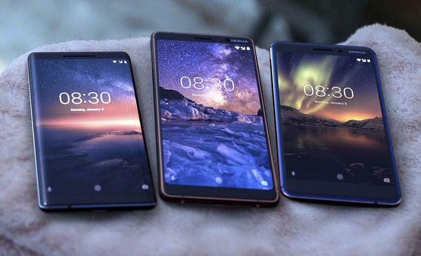 HMD toi hiljattain myyntiin uuden Nokia 6:n, Nokia 7 Plussan sekä Nokia 8 Siroccon.