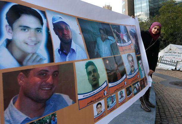 Syyrian sodassa kadonneita. Selviääkö heidän kohtalonsa koskaan?