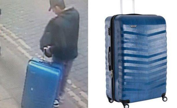 Salman Abedi nähtiin oudon laukun kanssa vain päivä ennen iskua. Poliisi on julkaissut kuvaa vastaavasta matkalaukusta.