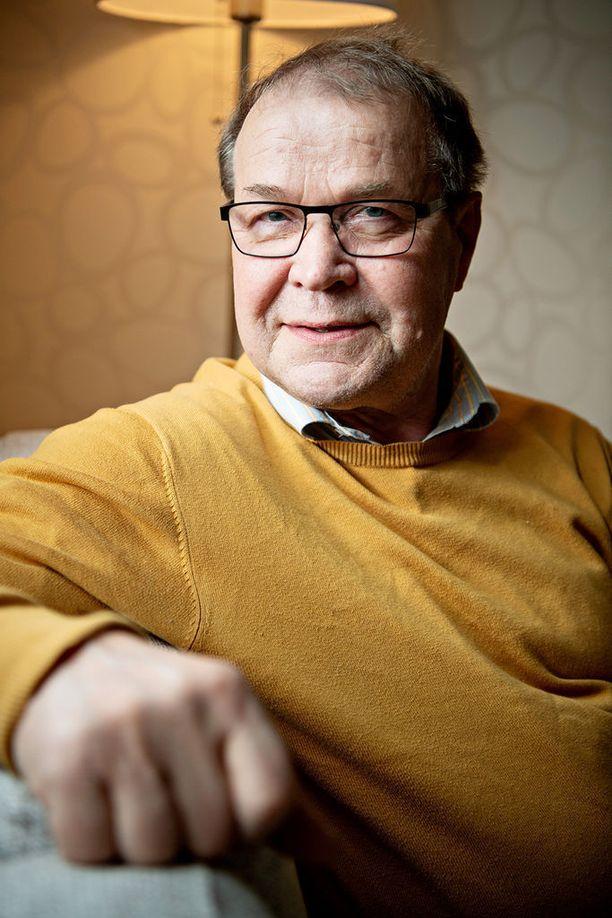 Sauli Heinonen sanoo, että hänen suojattinsa on erittäin hyvä valmennettava.