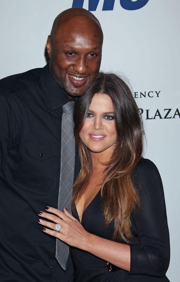 Odom ja Khloe Kardashian erosivat neljän avioliittovuoden jälkeen joulukuussa 2013.