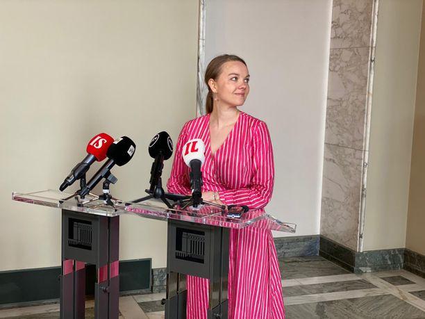 Katri Kulmuni erosi perjantaina valtiovarainministerin paikalta.