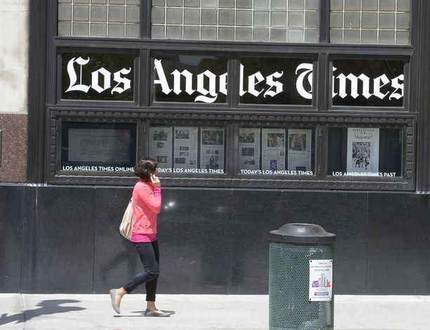 Vapaata mediaa on suojeltava kaikkia uhkia vastaan. Muun muassa Los Angeles Times joutui kyberhyökkäyksen kohteeksi Yhdysvalloissa. Arkistokuva.