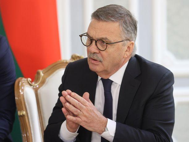 René Fasel lupasi edelleen tukensa Valko-Venäjän MM-hankkeelle.