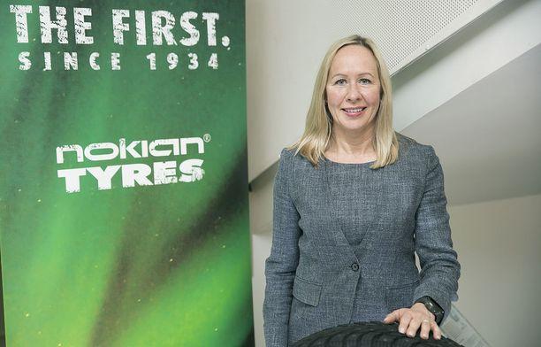 Toimitusjohtaja Hille Korhosen mukaan Venäjä toimii Nokian Renkaiden kasvun moottorina.