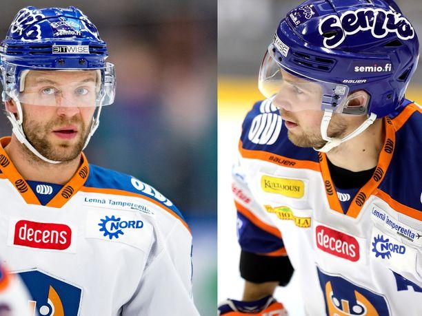 Sekä Ben Blood (vasemmalla) että Veli-Matti Vittasmäki saivat kuulla helmikuun alussa raskaan suru-uutisen.
