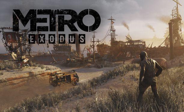 Metro Exodus tarjoaa vaihtuvia maisemia.