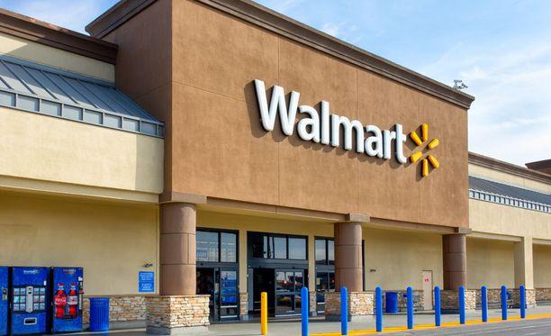 Walmartin edustaja sanoo, ettei ketju voi kommentoisa tapausta, sillä viestin alkuperästä ei ole varmuutta. Kuvituskuva.