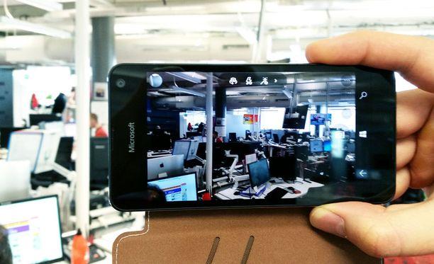 Lumia 650:n kamera kärsii muun muassa heikosta valoherkkyydestä.